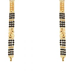 Three Layer Traditional Long Mangalsutra Chain-MS22-257