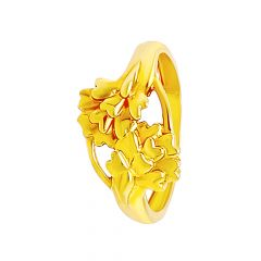 Blooming Floral Gold Ring