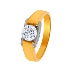 Enchanting CZ Diamond Ring For Him