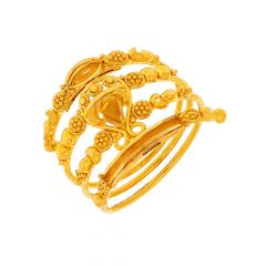 Traditional Spiral Wrap Gold Ring