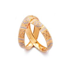 Batildis Gold Bangle  - SAM243