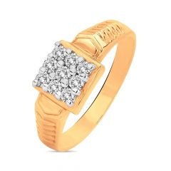 Dentiy Layered Diamond Ring