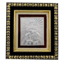 Frame With Silver Lord Ganesha