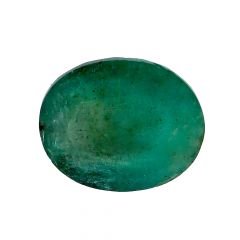 Natural 6.3 Cts Oval Faceted Emerald Gemstone