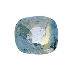 Natural 5.5 Cts Cushion Faceted Blue Sapphire Gemstone