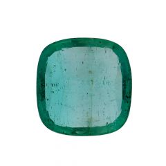Natural 3.8 Cts Cushion Faceted Emerald Gemstone