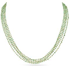Chain With Hallmark of Emeralds - SVTM-105-0021