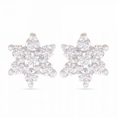 Paradise In Diamonds Earrings - SVTM-205-0215