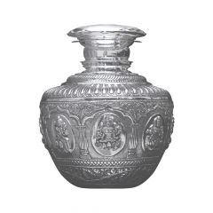 Ashtalakshmi Bindige Silver Artifact