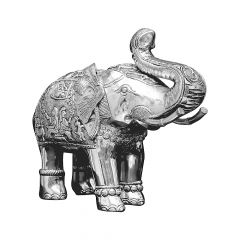 Nakas Elephant Silver Artifact