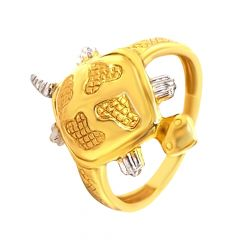 Ritual Lucky Turtle Gold Ring