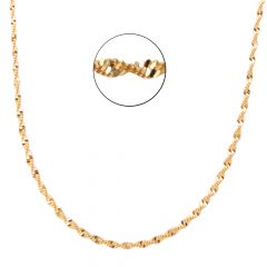 22kt Gold Links Disco Chain - BBCH46