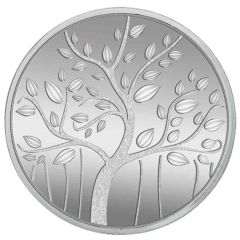 250 gm Banyan Tree Round Coin