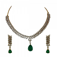 Diamond Necklace Set - Dnc53