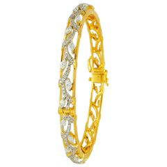 Marquise Cut Diamond Openable Bangles - ic31867