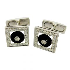 Diamond Cufflinks - rdcf1