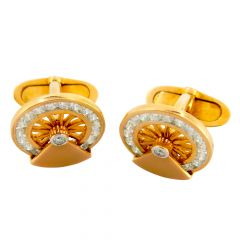Diamond Cufflinks - rdcf3