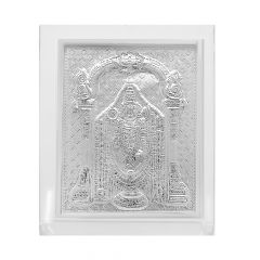 Frame With Silver Lord Venkateshwar