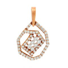 Glitz Framing Diamond Pendant