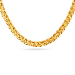 Fancy Twirl Chain With Hallmark - SVTM-105-0162