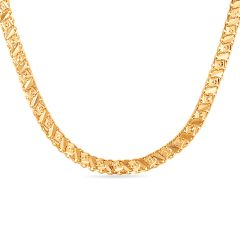 Delhi Flat Chain With Hallmark - SVTM-105-0172