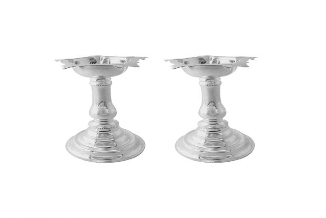 Alluring 800 Purity Silver Samai (Set of 2)-JPOCT-10-1002-D17