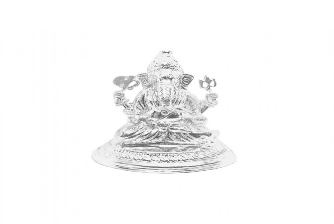 925 Purity Lord Ganesha Gifting Silver Artifact -145-MRT577