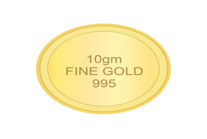 995 Purity 10 Gms Gold Coin