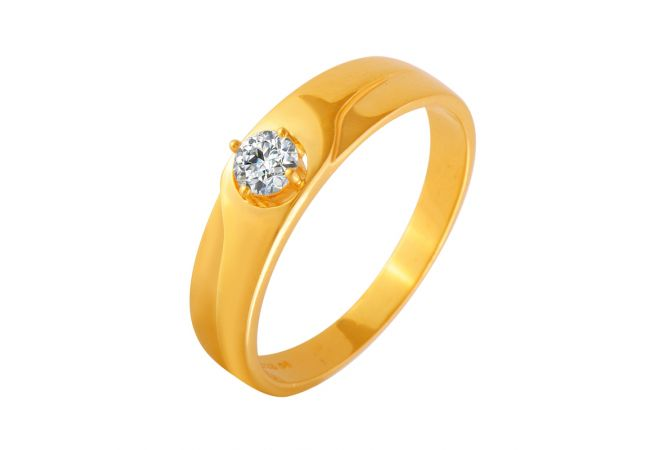 Astonishing CZ Diamond Ring For Him