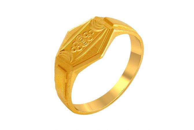 Niche Gold Ring For Him