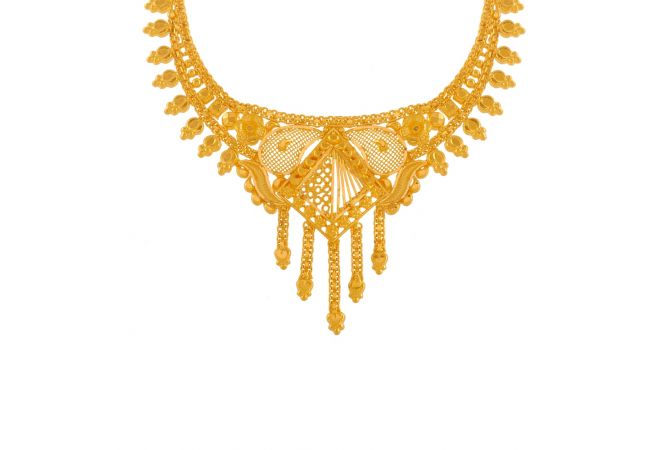 Marvellous Traditional Gold Necklace