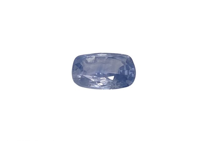 Natural 5.08 Carat Cushion Faceted Blue Sapphire Gemstone