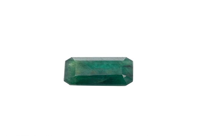 Natural 7.03 Carat Emerald Green Emerald Gemstone