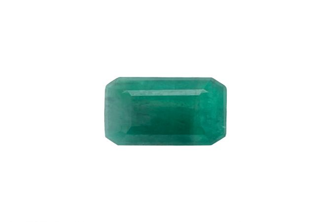 Natural 5.64 Carat Emerald Green Emerald Gemstone