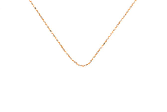 Trendy Ball Capsule Indrajeet Gold Chain -GCH18409