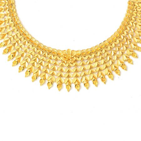 Ceremonial  Traditional  Gold Necklace
