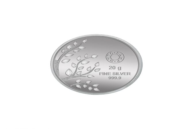Banyan Tree 20 Gms 999 Purity Silver Coin