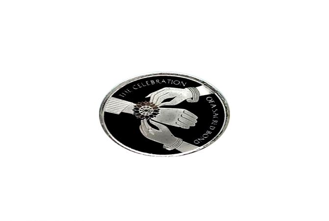 Bond of Love 999 Silver Coin 10 gms