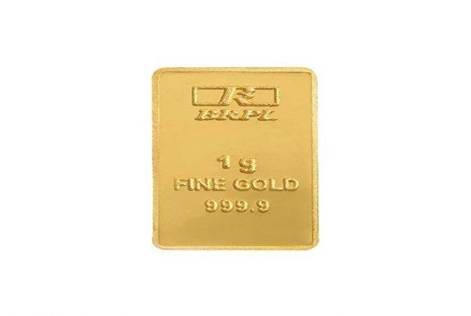 999 Purity 1 Gms Fine Gold Bar