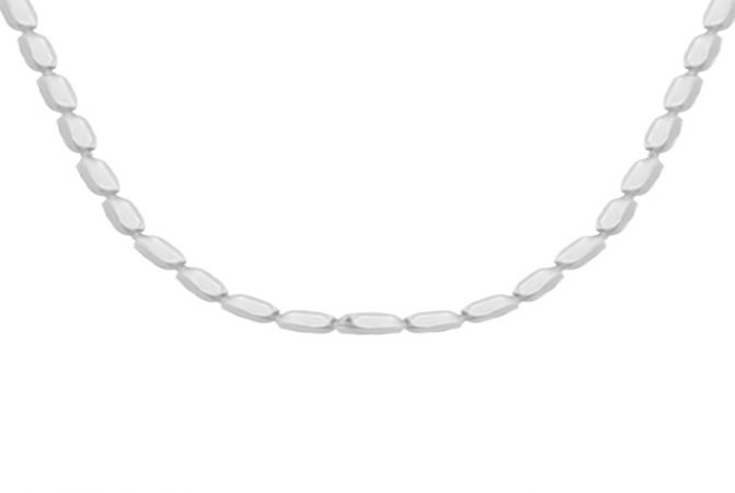 Delicate Ball Daily Wear 925 Silver Chain -S925BALLCH
