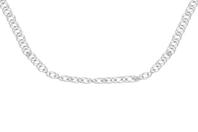 Delicate 925 Purity Curb Silver Chain -S925CURUB01