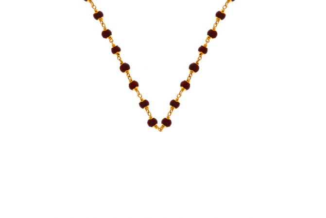 Tulsi Linked Gold Chain