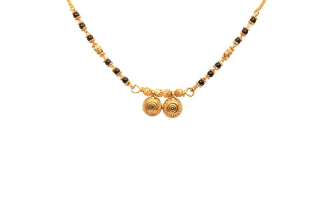 Dawli Design Traditional Gold Mangal Sutra-70005106