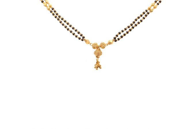 Two Layer Gold Mangal Sutra-70009008