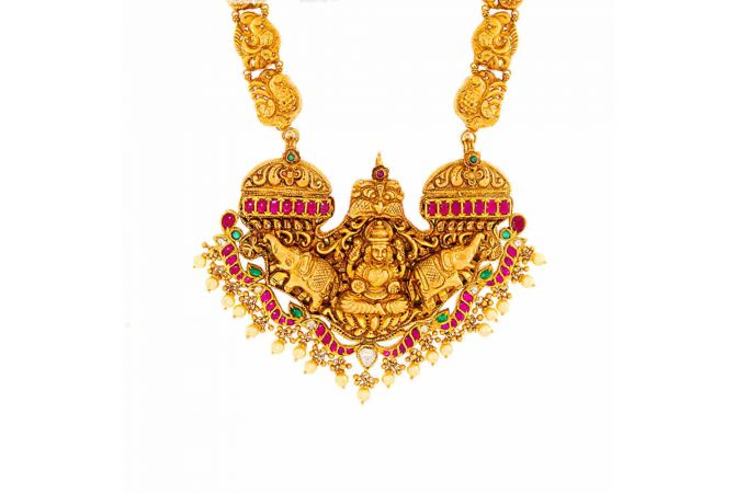 Gold Galore Antique Necklace