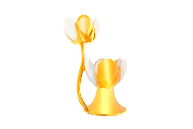 Two Tone Tulip Diya