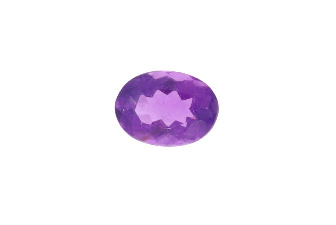 4.34cts Natural Oval Faceted Amethyst