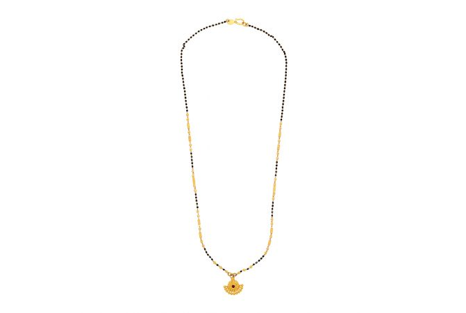 Traditional Gold Bead Mangalsutra