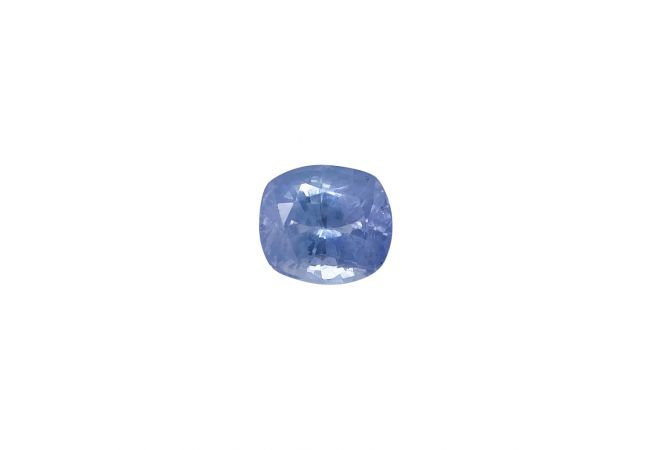 Natural 8.84 Carat Cushion Faceted Blue Sapphire Gemstone