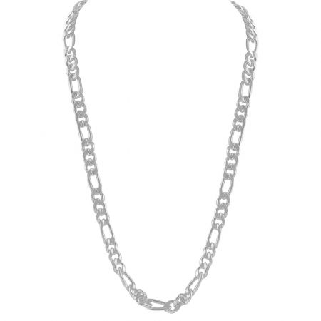 700kt Silver Chain For Men-CBX361